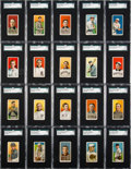 Baseball Cards:Sets, 1909-11 T206 White Border Near Set (510/524) With Over 100 ScarcerBrands. ...