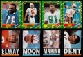 Football Cards:Sets, 1985 and 1986 Topps Football Complete Sets (2). ...