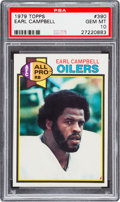 Football Cards:Singles (1970-Now), 1979 Topps Earl Campbell #390 PSA Gem Mint 10....