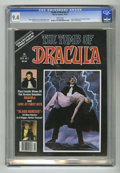 Bronze Age (1970-1979):Horror, Tomb of Dracula #1 (Marvel, 1979) CGC NM 9.4 White pages. FrankLangella and George Hamilton articles and photos. Bob Larkin...