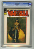 Bronze Age (1970-1979):Horror, Vampirella #13 (Warren, 1971) CGC NM- 9.2 Off-white pages. ManuelSanjulian cover. Jose Gonzalez art. Overstreet 2004 NM- 9....