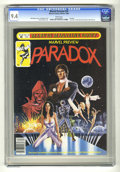 Magazines:Science-Fiction, Marvel Preview #24 Paradox (Marvel, 1980) CGC NM 9.4 White pages....