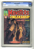 Bronze Age (1970-1979):Horror, Monsters Unleashed #8 (Marvel, 1974) CGC NM 9.4 White pages. ...