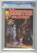 Bronze Age (1970-1979):Horror, Monsters Unleashed #10 (Marvel, 1975) CGC NM+ 9.6 White pages. DougMoench and Chris Claremont stories. Jad cover with Sanho...