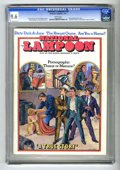 Magazines:Humor, National Lampoon #16 (National Lampoon, 1971) CGC NM+ 9.6 Whitepages. Pornography theme issue. National Lampoon subscri...