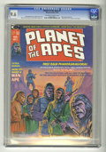 Magazines:Science-Fiction, Planet of the Apes #1 (Marvel, 1974) CGC NM+ 9.6 Off-white to whitepages....