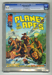 Planet of the Apes #4 (Marvel, 1975) CGC NM 9.4 Off-white to white pages. Bob Larkin cover art. Mike Ploog, George Tuska...