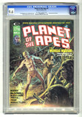 Magazines:Science-Fiction, Planet of the Apes #8 (Marvel, 1975) CGC NM+ 9.6 Off-white to whitepages. Earl Norem cover. Mike Ploog and Alfredo Alcala a...