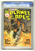 Magazines:Science-Fiction, Planet of the Apes #14 (Marvel, 1975) CGC NM 9.4 White pages. ...
