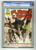 Magazines:Science-Fiction, Planet of the Apes #26 (Marvel, 1976) CGC NM- 9.2 White pages.Malcolm McN cover. Herb Trimpe and Dino Castrillo art. Low di...
