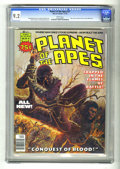 Magazines:Science-Fiction, Planet of the Apes #27 (Marvel, 1976) CGC NM_ 9.2 White pages. Apeposture photo primer by Jim Whitmore. Malcolm McN cover. ...