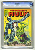 Magazines:Superhero, The Rampaging Hulk #2 (Marvel, 1977) CGC NM+ 9.6 White pages.Original X-Men appearance and biography. Bloodstone story. Ken...