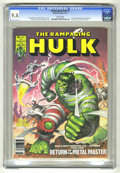 Magazines:Superhero, The Rampaging Hulk #3 (Marvel, 1977) CGC NM 9.4 White pages. ...