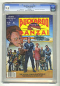 Magazines:Miscellaneous, Marvel Comics Super Special #33 Buckaroo Banzai (Marvel, 1984) CGCNM/MT 9.8 White pages. ...