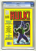 Magazines:Superhero, Hulk #18 (Marvel, 1979) CGC NM 9.4 White pages....