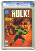 Magazines:Superhero, Hulk #21 (Marvel, 1980) CGC NM+ 9.6 White pages. ...