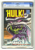 Magazines:Superhero, Hulk #22 (Marvel, 1980) CGC NM/MT 9.8 White pages. Bob Larkin cover art. Joe Jusko frontispiece. Ron Wilson, Alfredo Alcala,...