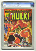 Magazines:Superhero, Hulk #25 (Marvel, 1978) CGC NM+ 9.6 White pages. ...