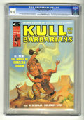 Magazines:Miscellaneous, Kull and the Barbarians (Magazine) #2 (Marvel, 1975) CGC NM+ 9.6Off-white to white pages. Neal Adams, Gil Kane, Bernie Wrig...