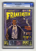 "Silver Age (1956-1969):Horror, Castle of Frankenstein #4 (Gothic Castle Printing, 1964) CGC NM-9.2 Off-white to white pages. ""Son of Chaney"" part 2. Speci..."