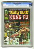 Magazines:Superhero, The Deadly Hands of Kung Fu #1 (Marvel, 1974) CGC NM+ 9.6 Off-whiteto white pages....