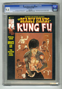 The Deadly Hands of Kung Fu #14 (Marvel, 1975) CGC NM+ 9.6 White pages. Special Bruce Lee issue. Neal Adams cover. Howar...