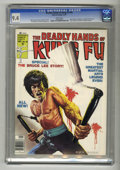 Magazines:Miscellaneous, The Deadly Hands of Kung Fu #28 (Marvel, 1976) CGC NM 9.4 Whitepages. ...