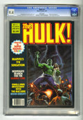Magazines:Superhero, Hulk #14 (Marvel, 1979) CGC NM 9.4 White pages. Bob Larkin cover.Mike Zeck, Ron Wilson, Rudy Nebres, and Bill Sienkiewicz a...