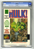 Magazines:Superhero, Hulk #16 (Marvel, 1979) CGC NM 9.4 White pages. Earl Norem cover.Rudy Nebres and Mike Zeck art. Overstreet 2004 NM- 9.2 val...