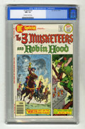 Bronze Age (1970-1979):Miscellaneous, DC Special #22 The Three Musketeers and Robin Hood (DC, 1976) CGCNM+ 9.6 Off-white to white pages. Overstreet 2004 NM- 9.2 ...