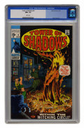 Bronze Age (1970-1979):Horror, Tower of Shadows #4 (Marvel, 1970) CGC NM+ 9.6 White pages. MarieSeverin cover. Gene Colan art. Overstreet 2004 NM- 9.2 val...