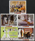 "Movie Posters:Animated, One Hundred and One Dalmatians (Buena Vista, R-1972). Title LobbyCard (11"" X 14"") and Lobby Cards (4) (11"" X 14""). Animated...(Total: 5 Items)"