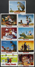 "Movie Posters:Animated, Song of the South (Buena Vista, R-1972). Lobby Card Set of 9 (11"" X 14""). Musical. Starring Lucile Watson, Ruth Warrick, Hat... (Total: 9 Items)"