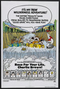 "Movie Posters:Animated, Race for Your Life, Charlie Brown (Paramount, 1977). One Sheet (27""X 41""). Animated. Starring the voices of Duncan Watson, ..."