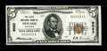 National Bank Notes:Arkansas, Newark, AR - $5 1929 Ty. 1 The First NB Ch. # 9022. An attractive serial number 1 example which has been off the market ...