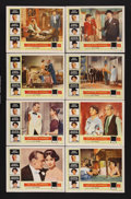 """Movie Posters:Romance, Love In The Afternoon (Allied Artists, 1957). Lobby Card Set of 8 (11"""" X 14""""). Romantic Comedy. Starring Gary Cooper, Audrey... (Total: 8 Items)"""