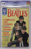 "Silver Age (1956-1969):Humor, Beatles #1 (Dell, 1964) CGC VF/NM 9.0 Off-white to white pages. Overstreet rates this comic book ""scarce"", and with the endu..."
