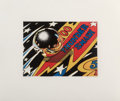 Prints:Contemporary, Charles Bell (1935-1995). Thunder Smash Fragment, 1988.Aquatint in colors. 11-1/2 x 15-1/2 inches (29.21 x 39.37 cm) (i...