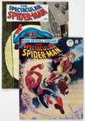 Magazines:Superhero, Spectacular Spider-Man #1 and 2 Group (Marvel, 1968) Condition:Average VG+.... (Total: 2 Comic Books)