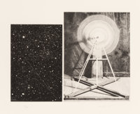 Vija Celmins (b. 1939) Concentric Bearings A, 1984 Aquatint, photo-etching, and drypoint 9-3/8 x