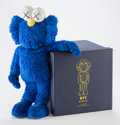 Post-War & Contemporary:Contemporary, KAWS (b. 1974). BFF, 2016. Blue plush figure. 18 inches(45.7 cm) high. Ed. 997/1000. Produced by AllRightsReserved Ltd....