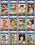 Autographs:Sports Cards, Signed 1961 Topps Baseball Card Collection (59 Different). ...