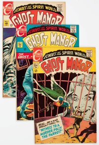 Ghost Manor/Ghostly Haunts Group of 24 (Charlton, 1968-72) Condition: Average FN/VF.... (Total: 24 Comic Books)