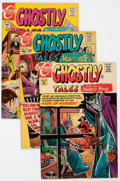 Bronze Age (1970-1979):Horror, Ghostly Tales Group of 23 (Charlton, 1968-77) Condition: AverageFN/VF.... (Total: 23 Comic Books)
