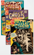 Bronze Age (1970-1979):Horror, Many Ghosts of Dr. Graves Group of 19 (Charlton, 1968-78)Condition: Average FN/VF.... (Total: 19 )