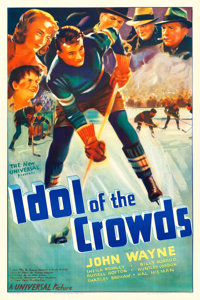 "Idol of the Crowds (Universal, 1937). One Sheet (27"" X 41"")"