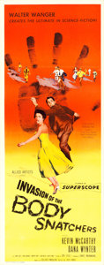 "Movie Posters:Science Fiction, Invasion of the Body Snatchers (Allied Artists, 1956). Insert (14""X 36"").. ..."