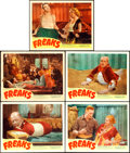 "Movie Posters:Horror, Freaks (Excelsior, R-1949). Lobby Cards (5) (11"" X 14"").. ...(Total: 5 Items)"