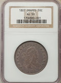 Early Half Dollars: , 1807 50C Draped Bust AU50 NGC. NGC Census: (30/215). PCGSPopulation: (81/242). CDN: $4,250 Whsle. Bid for problem-freeNGC...
