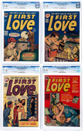 Golden Age (1938-1955):Romance, First Love Illustrated CGC-Graded File Copies Group of 5 (Harvey,1950-52).... (Total: 5 Comic Books)